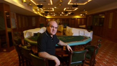 Michael Asims, manager of the Christmas Island Resort and Casino.
