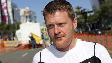 The winner of the 2006 Tour, Floyd Landis.