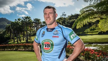 Eye on the future: Blues skipper Paul Gallen says he has plenty of experience and wants to stay involved with the game.