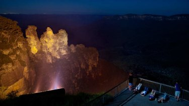 The Three Sisters in Katoomba are soon to be listed as an Aboriginal heritage site.