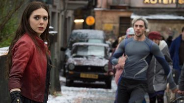 Scarlet Witch/Wanda Maximoff (Elizabeth Olsen) and Quicksilver/Pietro Maximoff (Aaron Taylor-Johnson) are the most interesting characters.