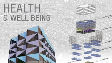 Hubs of health, fitness and treatment could be housed in revitalised buildings.