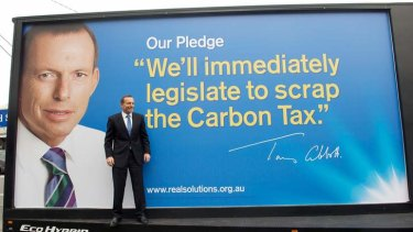 The Climate Change Authority has risked the ire of Tony Abbott by modelling the cost of emissions reductions on the implementation of a carbon tax.