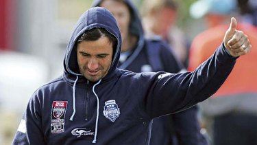 Under siege ... criticism of Andrew Johns has continued unabated since his Origin camp outburst.