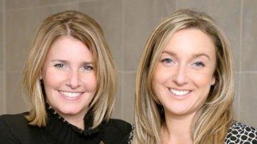 Endota spa founders, Belinda Fraser and Melanie Gleeson.
