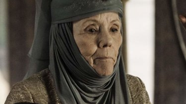 Cheese. Now. Or Else. ... Diana Rigg as Lady Olenna, <i>Game of Thrones</i>