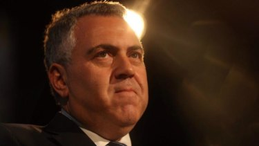 Joe Hockey said poor people didn't drive and raising fuel taxes would most affect those on higher incomes.