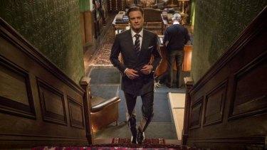 Spectacular suits: Colin Firth in <em>Kingsman: The Secret Service</em>.