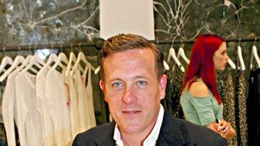 Fashion's future? ... The Sartorialist, Scott Schuman, at Sydney's Sass and Bide boutique.