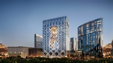 Morpheus Hotel, Dubai.