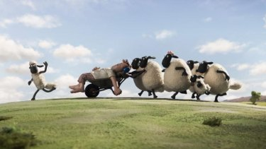 The sun always shines on the farm in <i>Shaun the Sheep</i>.