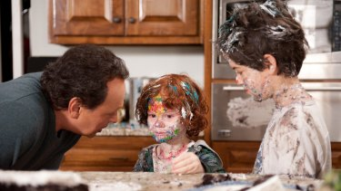 Grandparents in charge: Billy Crystal, Kyle Harrison Breitkopf and Joshua Ross in Parental Guidance.