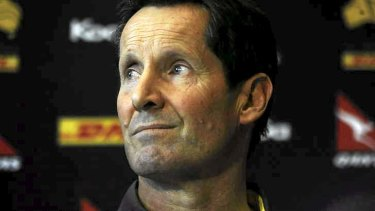 Thick-skinned: Kiwi Robbie Deans has coped with enormous pressure and criticism in Australia, but is highly regarded by players.