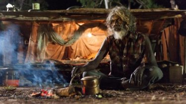 David Gulpilil as Charlie in a scene from Rolf de Heer's 'Charlie's Country'.