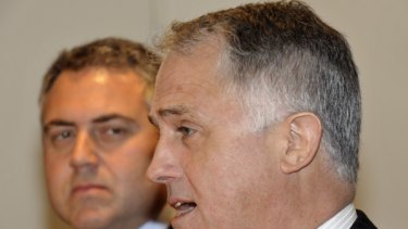 With Malcolm Turnbull on the ropes, does Joe Hockey want his leader's job?