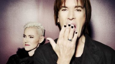 Thrilled ... Per Gessle and Marie Fredriksson are happy to be returning to Australia.