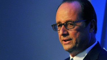 Record low approval rating: French President Francois Hollande.