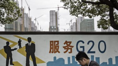 Global economic leaders called from the sidelines of the G20 summit in Hangzhou for governments and businesses to fight to keep goods flowing across borders.