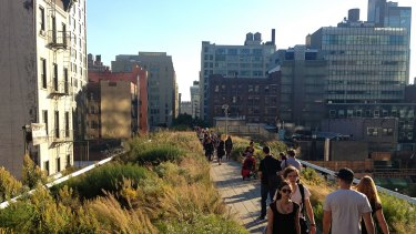 Five years after opening, the High Line has become one of New York's top
