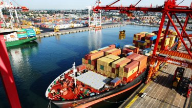 The port will reach capacity by 2015.