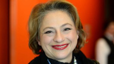 Sophie Mirabella, in danger of losing her seat of Indi.