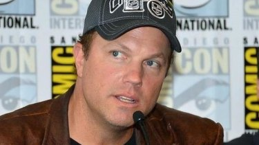 Adam Baldwin's visit has sparked controversy.