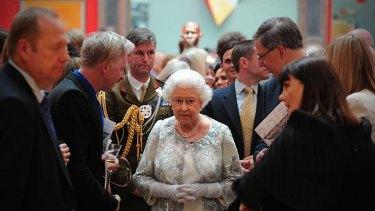 Sovereign for 60 years ... Queen Elizabeth.