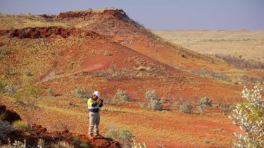 The Roy Hill mine in the Pilbara.