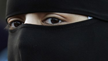 A witness wants to testify wearing a niqab, or burqa, which allows just a small slit for the eyes.