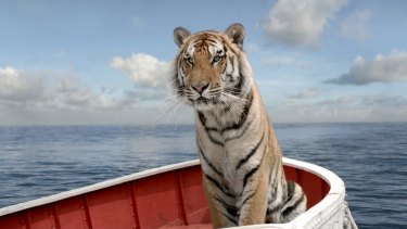 ''We almost killed King in the water tank'': The tiger from <i>Life of Pi</i>.