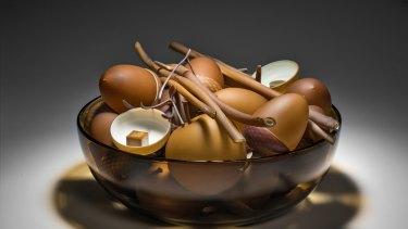 Long life: Nick Wirdnam, <i> Bowl of plenty (gold) No. 11</i> in <i>Beliefs</i>.