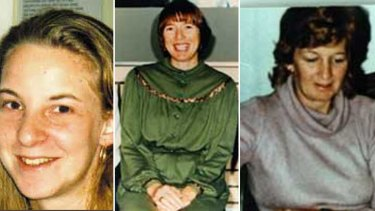 The cases of Lisa Brown, Sally Greenham and Sharon Fulton all remain unsolved.