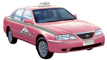 In the pink: A new fleet of women-only taxis may be coming to Melbourne's streets.
