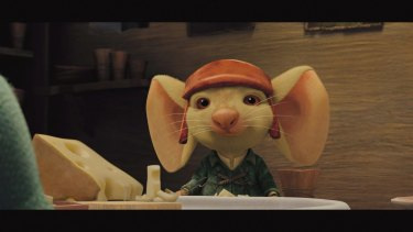 <i>The Tale of Despereaux </i> by Kate DiCamillo,   a story of a mouse's brave quest.