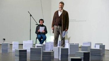 Riccardo Vaglini (standing) and Tom Nicholson.