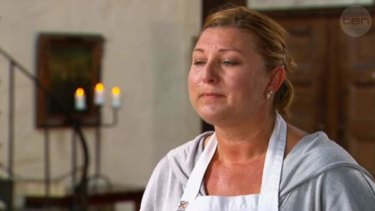 Blinked and she missed out, another anonymous reject ... MasterChef
