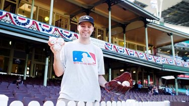 On the ball: Zack Hample.
