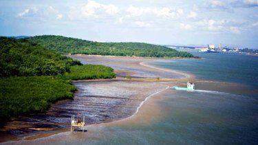 Gladstone's Curtis Island will become the site of a liquified natural gas plant.
