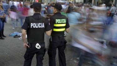 Criminal surge ... Costa Rica is being threatened by the same drug cartels as Mexico.