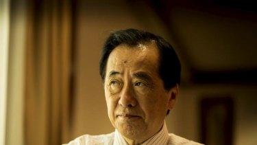 Advocate for renewable energy: Former Japanese prime minister Naoto Kan.