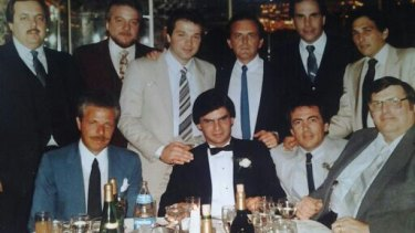 Goodfellas: Michael Franzese with his Mob family.