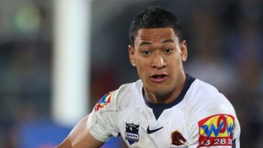Crossing to the AFL: Israel Folau.
