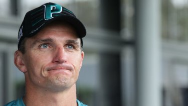 Sacked: former Panthers coach Ivan Cleary.