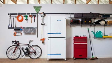ZEN Energy's new storage unit is the size of a fridge.