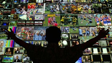 Endless possibilities ... online television is rapidly expanding.