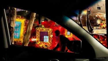 In vogue: A work by Sydney street artist Antony Lister.