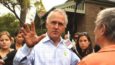Malcolm Turnbull announces his return to politics this morning.