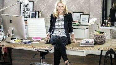"Lorna Jane Clarkson: ""Sporty and feminine with a fashion edge."""