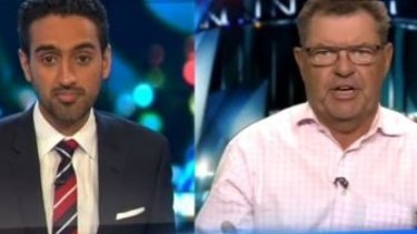 Things got heated between Waleed Aly and Steve Price on The Project on Wednesday.