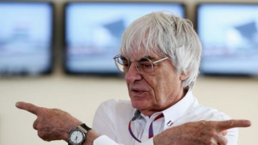 "Bernie Ecclestone: ""I was not horrified by the noise, I was horrified by the lack of it."""